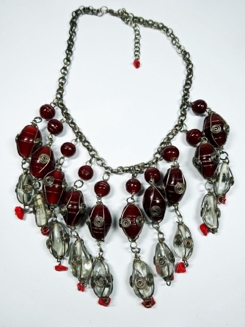 "COSTUME JEWELRY NECKLACE, APPROX 17.5""L - 2"
