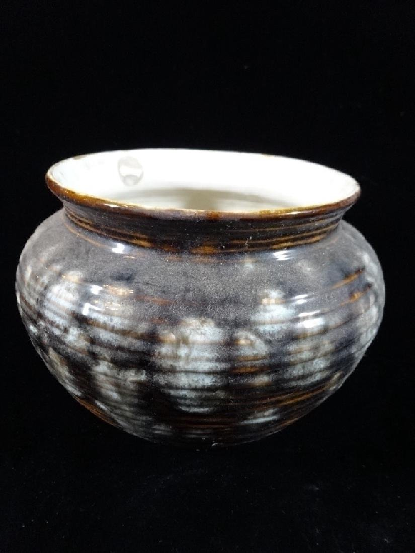 ART POTTERY VASE OR PLANTER CIRCA 1977, SIGNED AND - 2