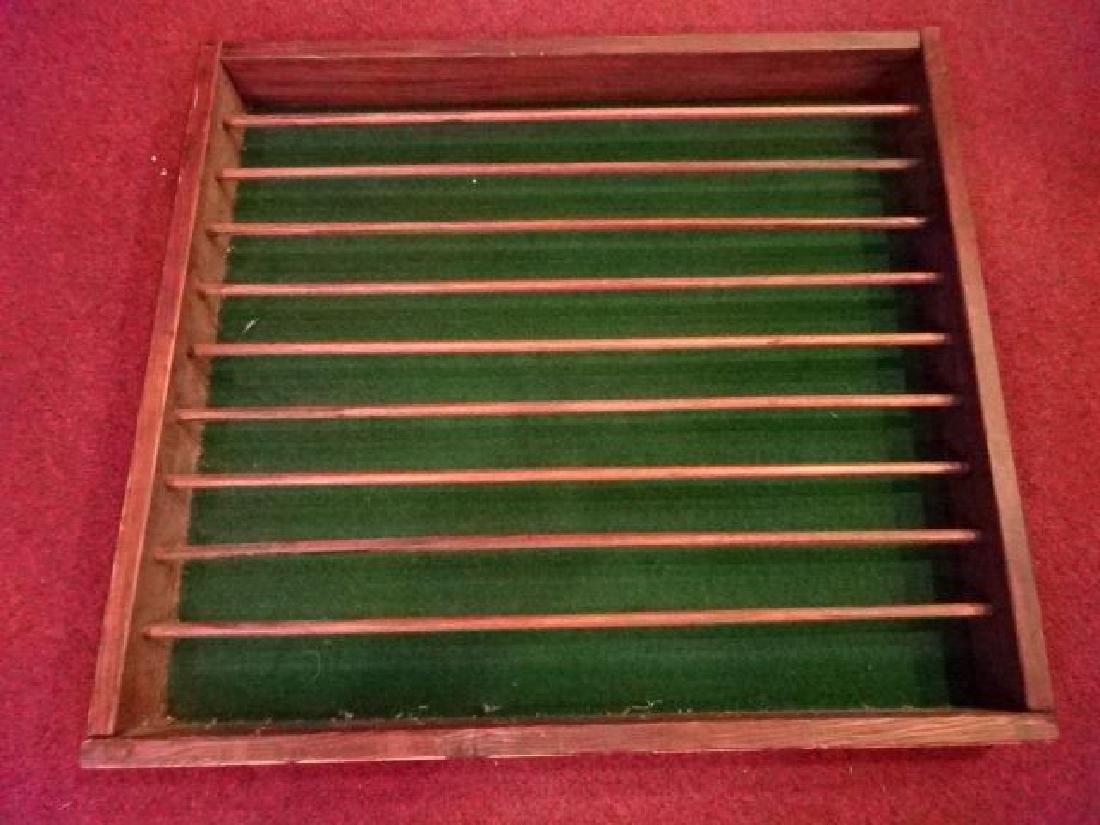 "VINTAGE WOOD GOLF BALL RACK, 24""W X 22""H, SKU5260.17 - 2"