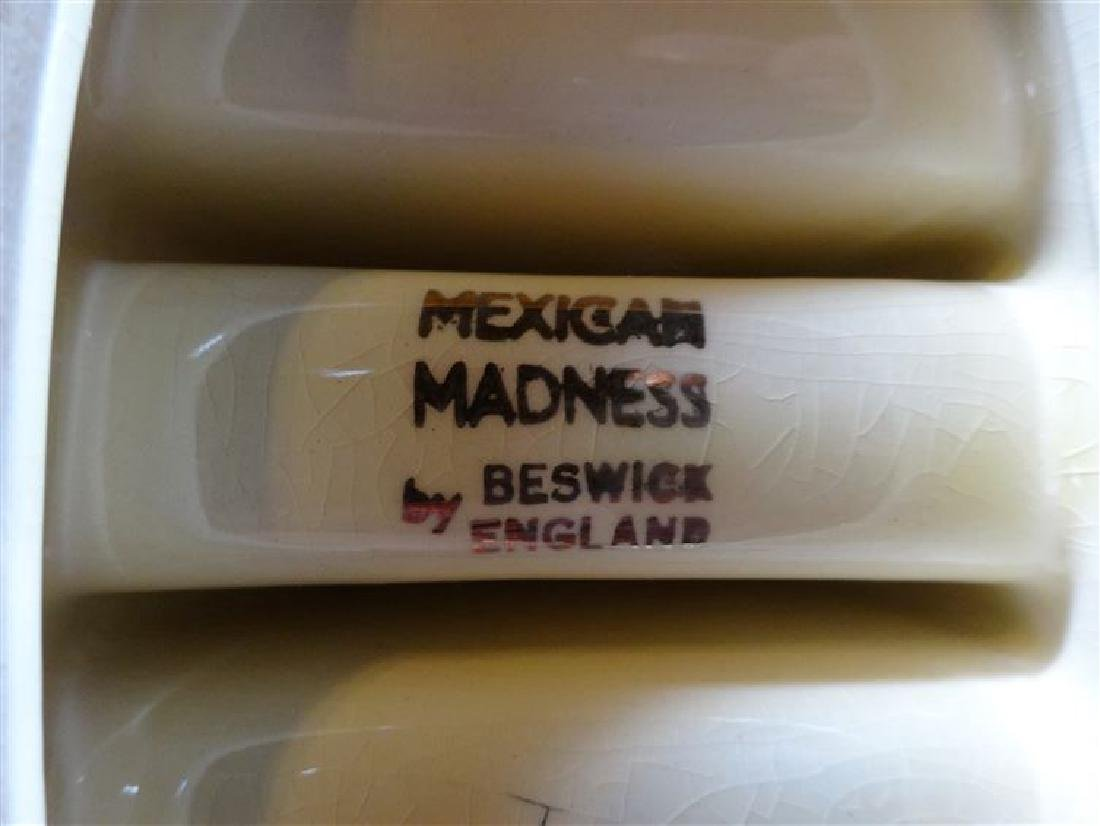 BESWICK POTTERY 1950's TOAST RACK, MEXICAN MADNESS - 4