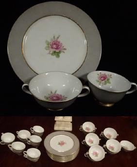 33 PC FUJI CHINA, MADE IN OCCUPIED JAPAN, INCLUDES 10
