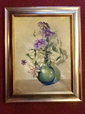 ETHEL HORE TOWNSEND (1876-1970) OIL ON CANVAS PAINTING,