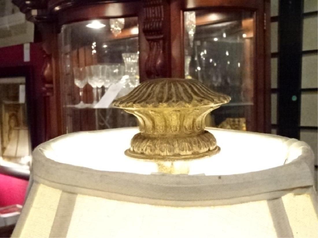 NEOCLASSICAL FLOOR LAMP, URN STYLE COLUMN BASE, VERY - 3