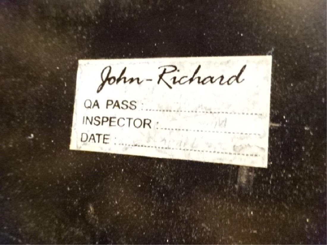 JOHN RICHARD GOLD GILT EBONIZED COFFEE TABLE, WITH - 7