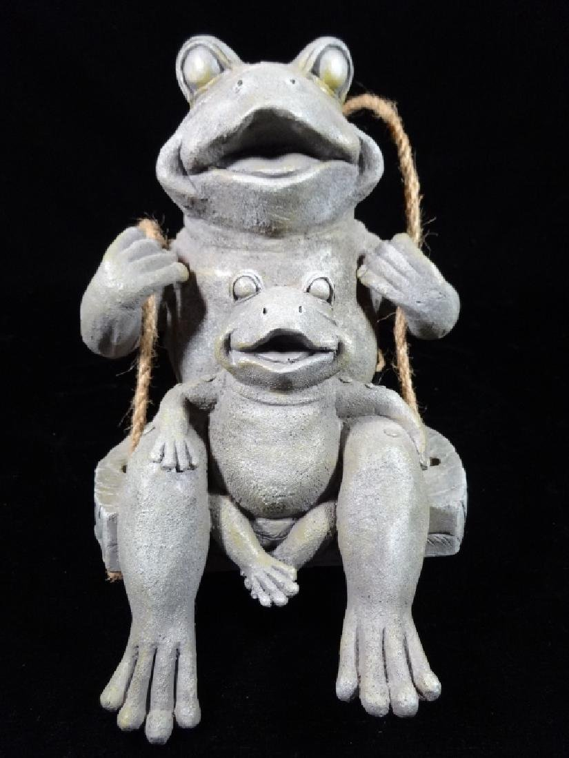 """FROG WALL HANGING, APPROX 10"""" X 6"""""""