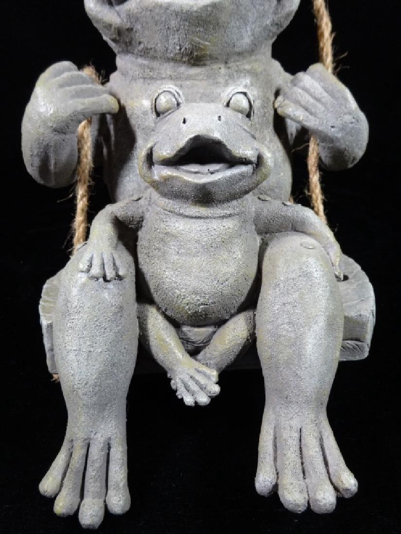 """FROG WALL HANGING, APPROX 10"""" X 6"""" - 3"""