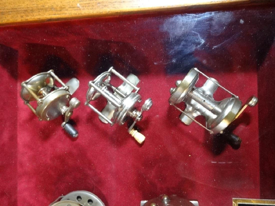ANTIQUE FISHING REELS, LATE 1800'S TO EARLY 1900'S, - 3