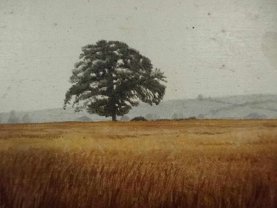 PATRICK A. OXENHAM PAINTING ON BOARD, LANDSCAPE, MEADOW - 4