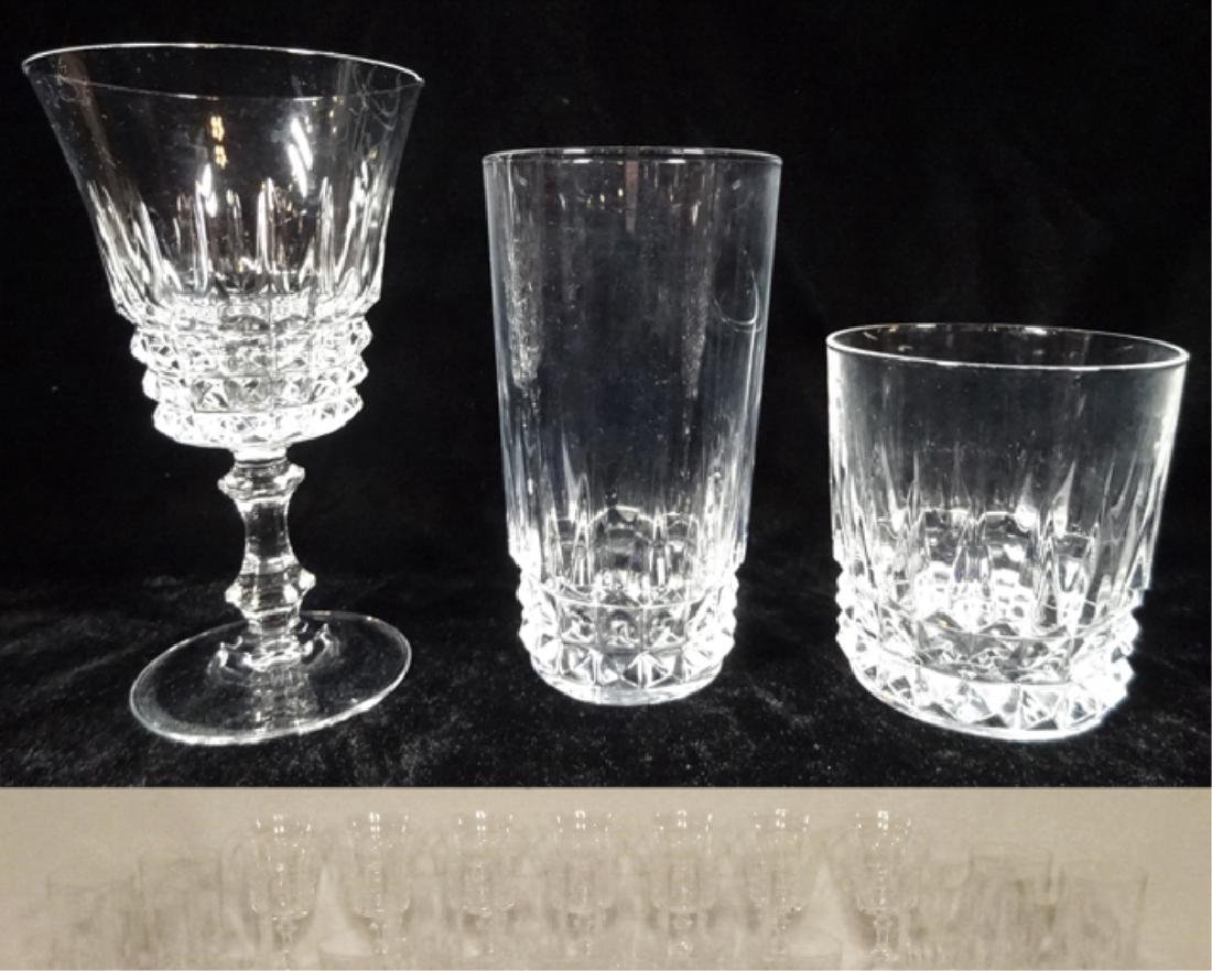 "31 PC BARWARE, INCLUDES 12 TUMBLERS APPROX 5 3/8""H, 12"