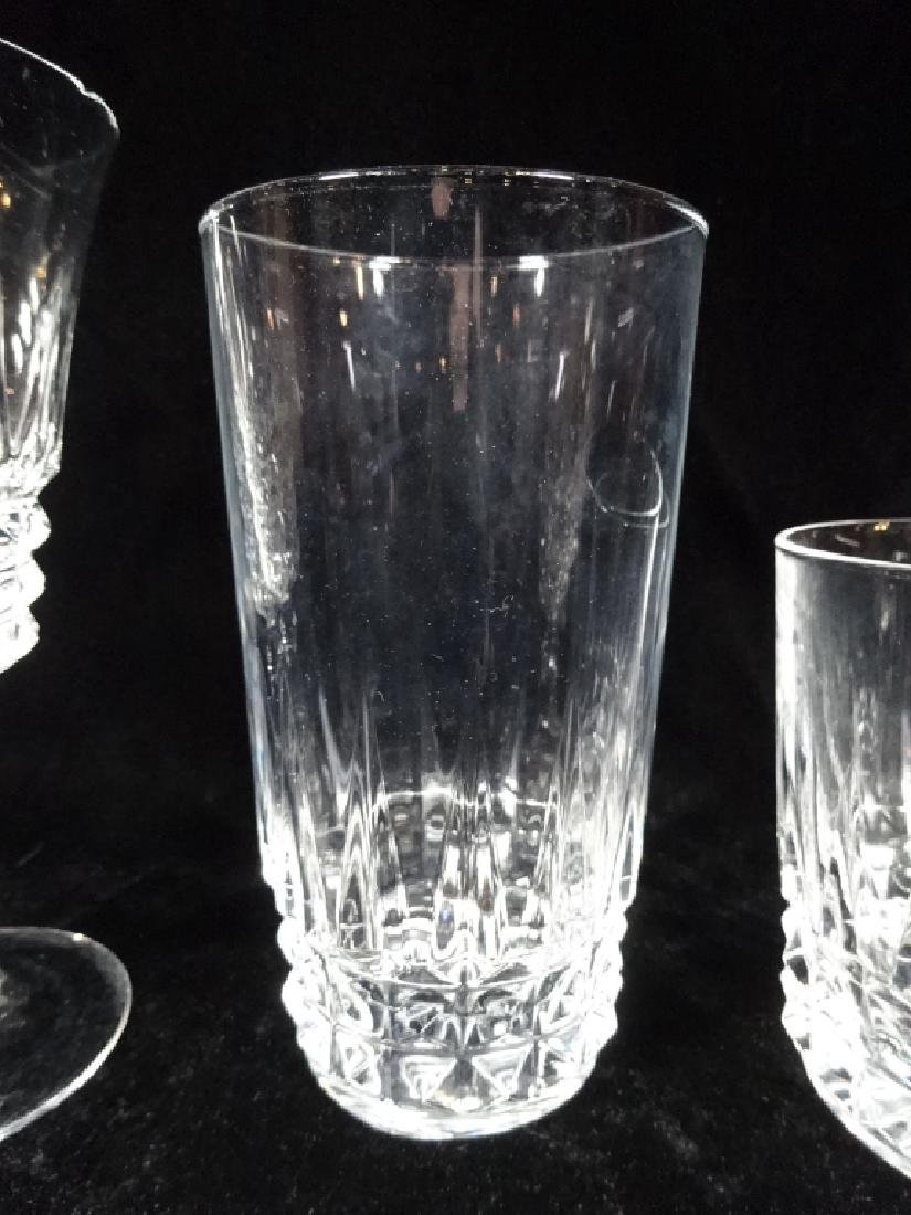 "31 PC BARWARE, INCLUDES 12 TUMBLERS APPROX 5 3/8""H, 12 - 4"