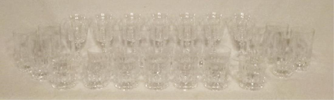 "31 PC BARWARE, INCLUDES 12 TUMBLERS APPROX 5 3/8""H, 12 - 7"