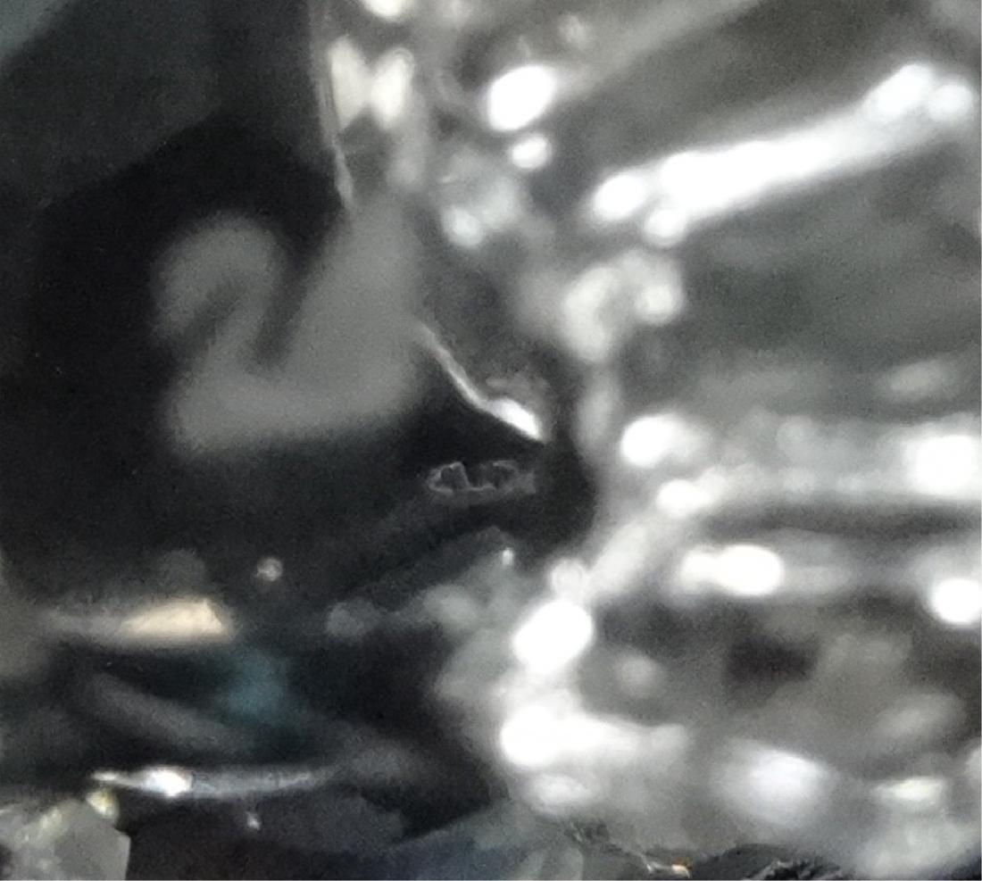 SWAROVSKI SILVER CRYSTAL MINI HEN, #7675 030 000, MADE - 5