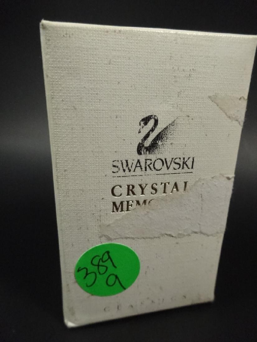 RETIRED SWAROVSKI CRYSTAL MINI TYPEWRITER, 18K GOLD - 8