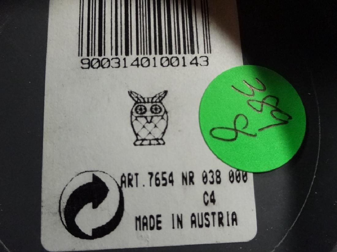 SWAROVSKI SILVER CRYSTAL OWL, #7654 038 000, MADE IN - 6