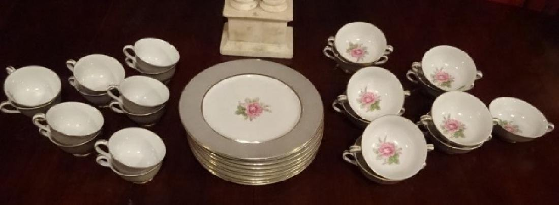 33 PC FUJI CHINA, MADE IN OCCUPIED JAPAN, INCLUDES 10 - 7