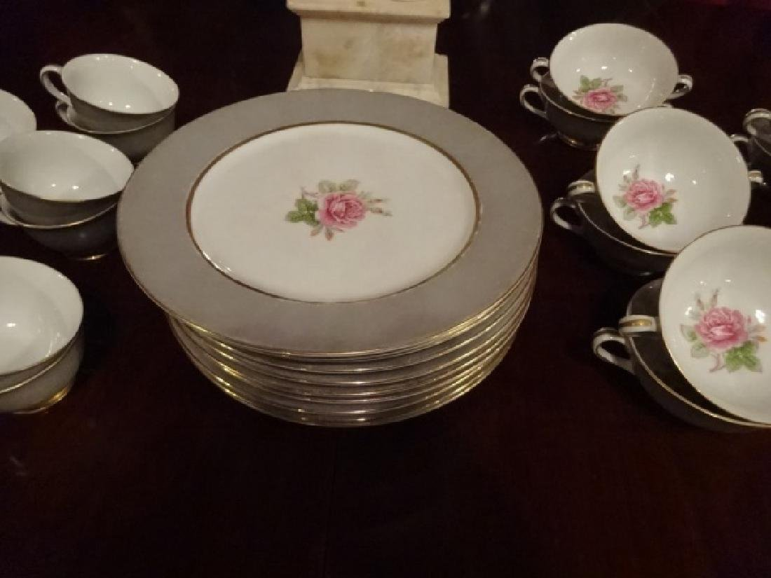33 PC FUJI CHINA, MADE IN OCCUPIED JAPAN, INCLUDES 10 - 9