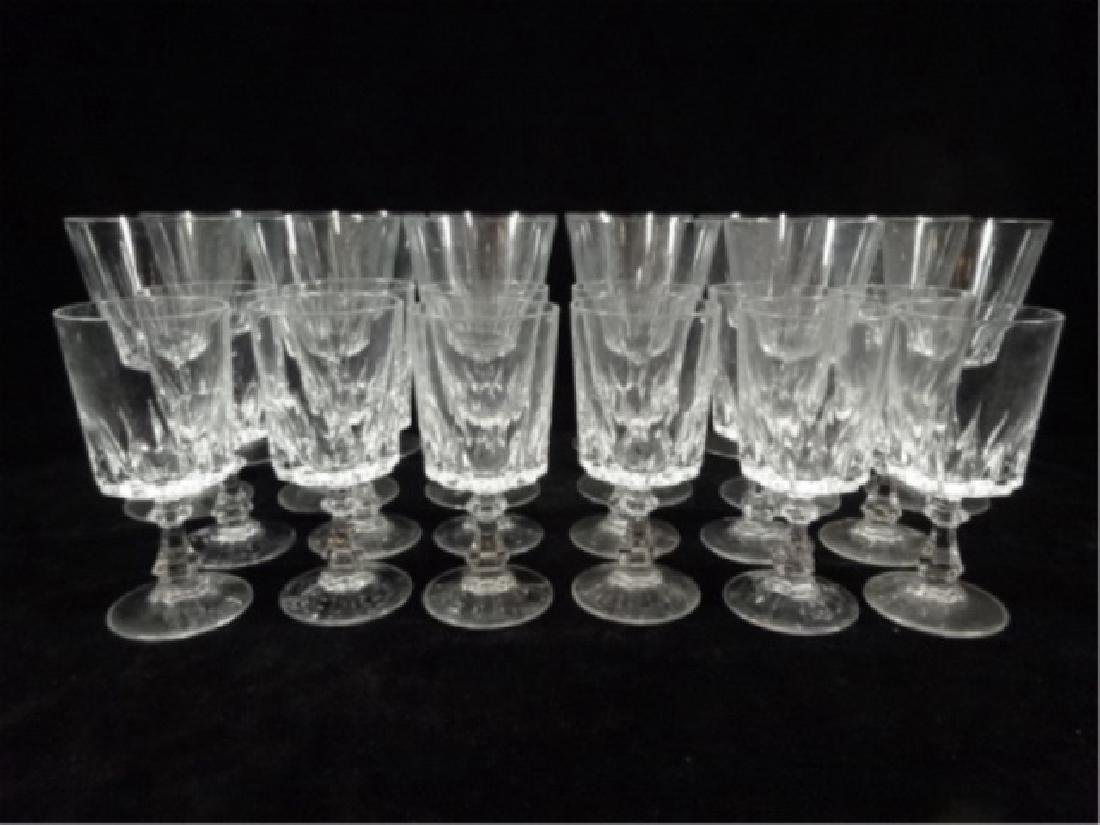 24 PC CRYSTAL STEMWARE, SIMILAR WITH DIFFERENT STEMS, - 2