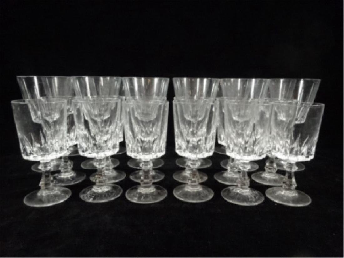 24 PC CRYSTAL STEMWARE, SIMILAR WITH DIFFERENT STEMS, - 3