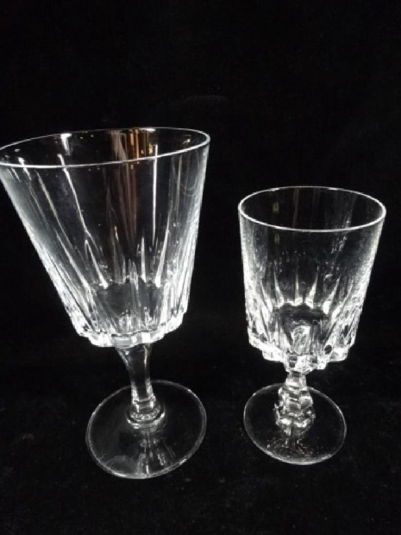 24 PC CRYSTAL STEMWARE, SIMILAR WITH DIFFERENT STEMS, - 5