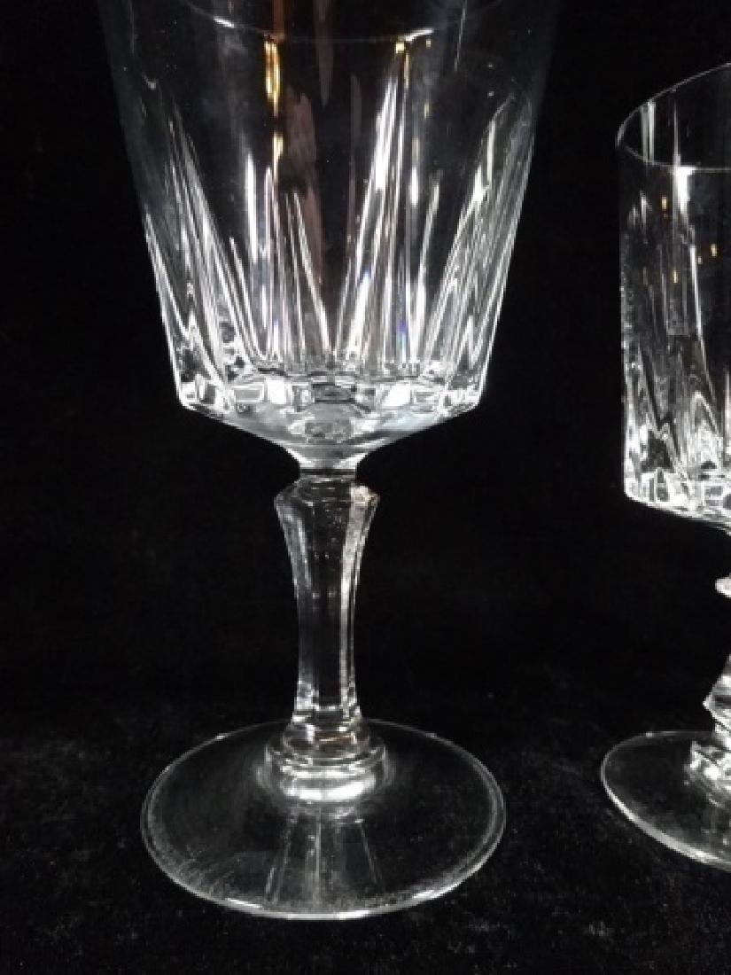 24 PC CRYSTAL STEMWARE, SIMILAR WITH DIFFERENT STEMS, - 8