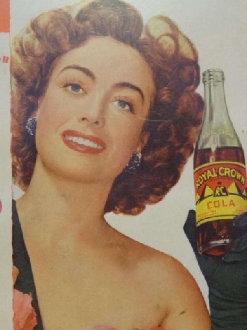 VINTAGE JOAN CRAWFORD ADVERTISEMENT, ROYAL CROWN COLA - 4