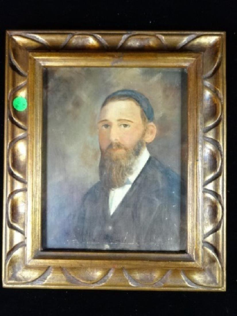 OIL PAINTING ON BOARD, MALE PORTRAIT, UNSIGNED, VERY
