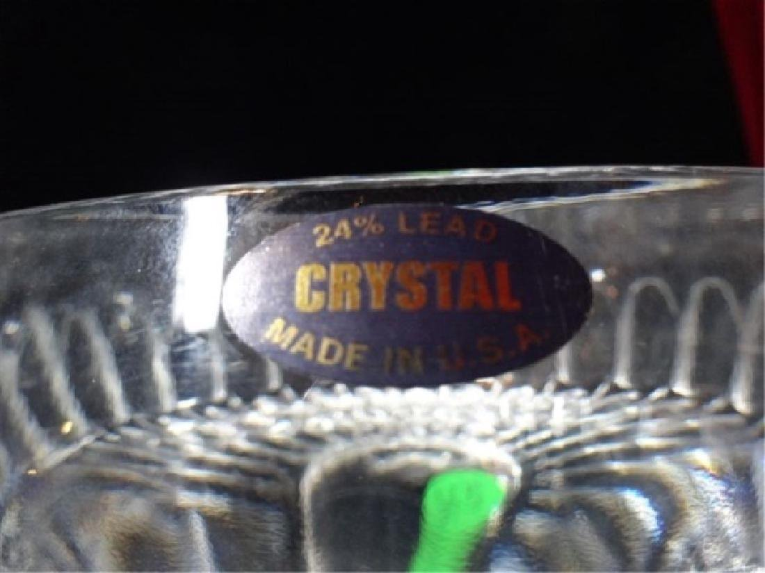 VINTAGE CRYSTAL BOWL, VERY GOOD CONDITION WITH NO - 4