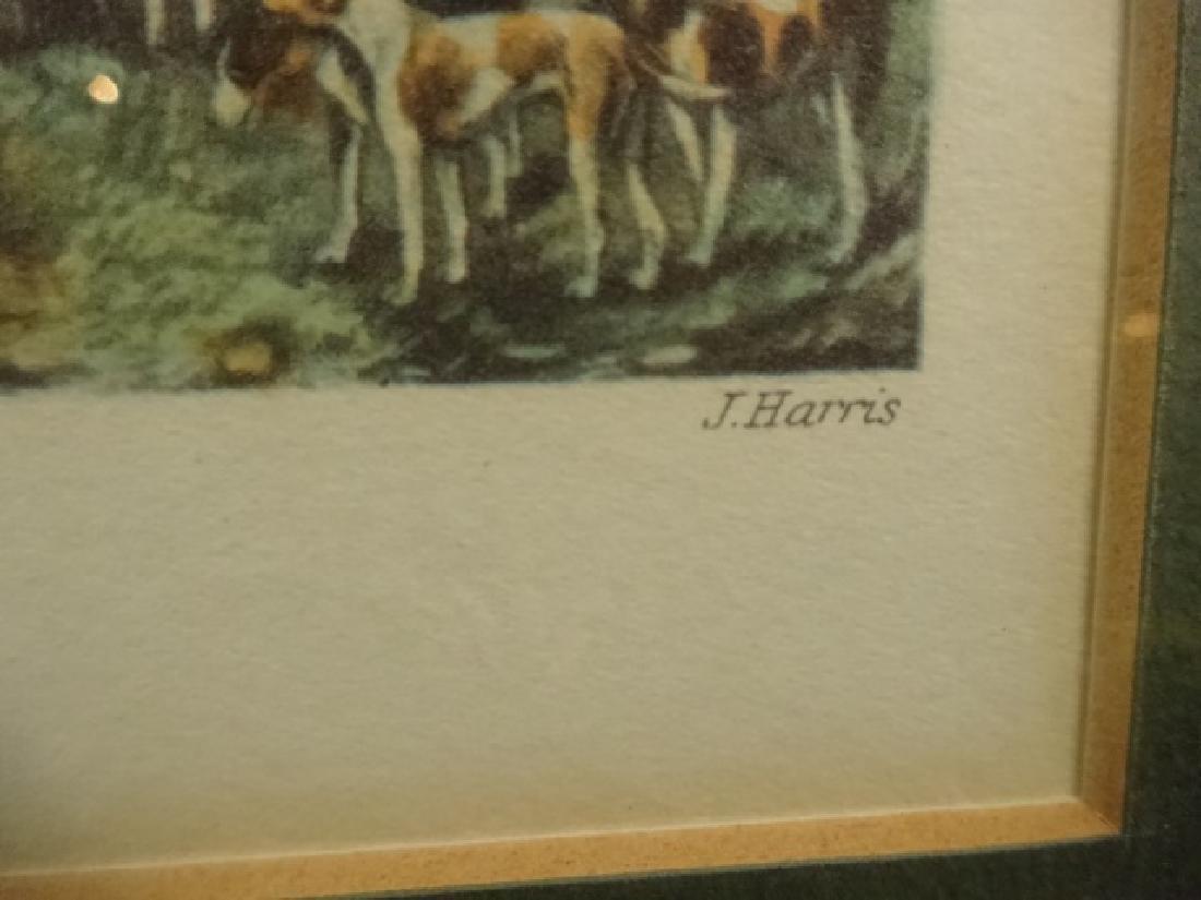 4 PC FOX HUNT COLOR PLATES, J. HARRIS / H. ALKEN, - 5