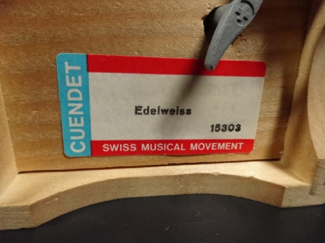 CUENDET SWISS MUSICAL MOVEMENT, MUSIC BOX PLAYS - 4