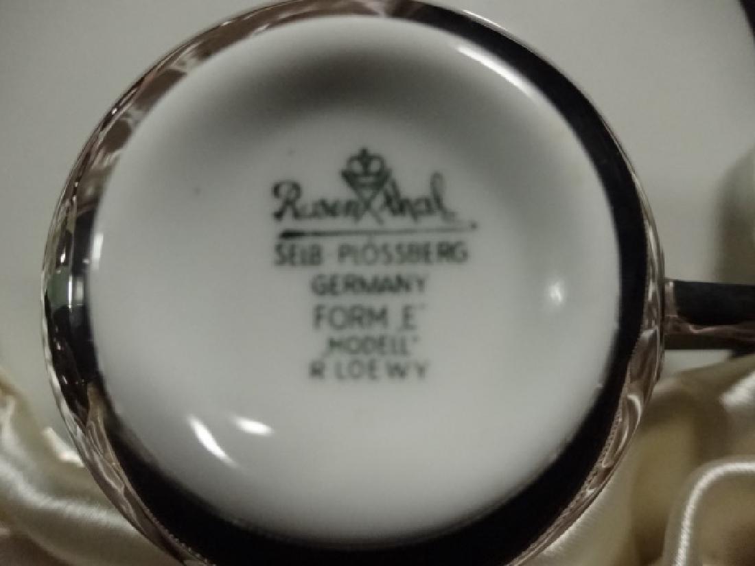 12 PC VINTAGE ROSENTHAL-SELB PLOSSBERG PORCELAIN COFFEE - 7
