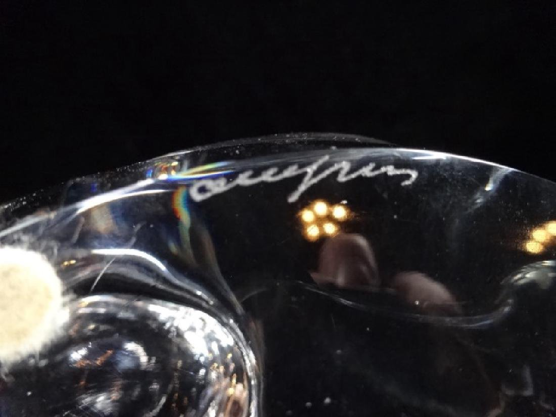 """ORREFORS CRYSTAL DUCK FIGURINE, APPROX 4""""H X 6""""L - 5"""