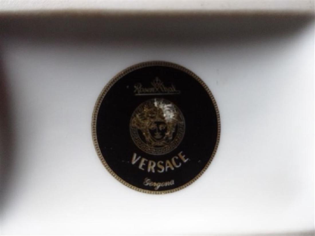 VERSACE ROSENTHAL PORCELAIN GORGONA CLOCK, WHITE - 4