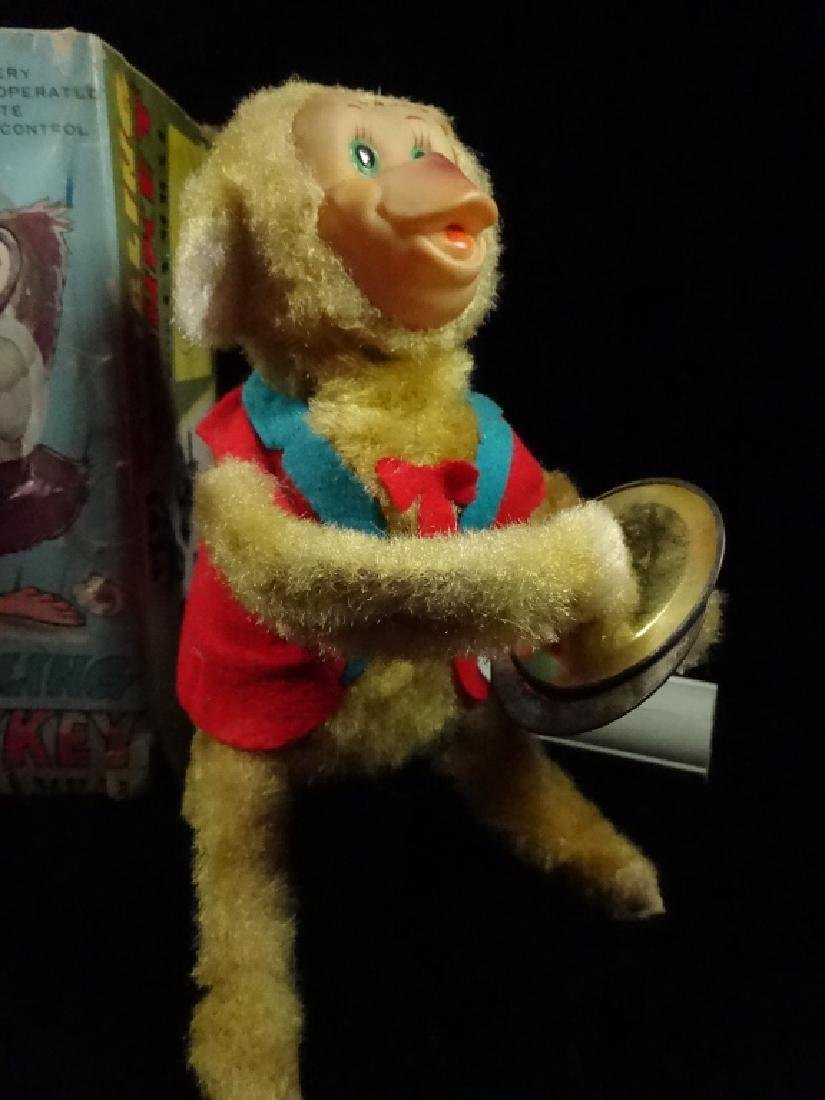 VINTAGE PEPI TUMBLING MONKEY TOY, BATTERY OPERATED, BY - 3