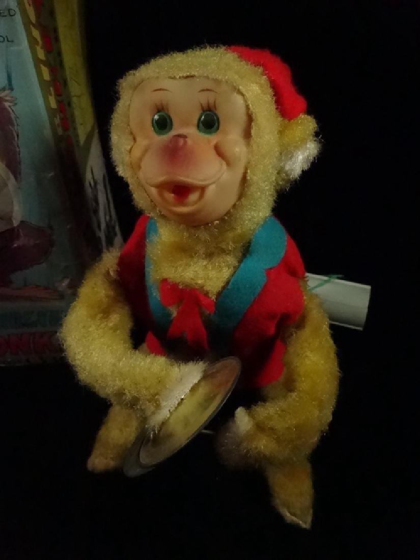 VINTAGE PEPI TUMBLING MONKEY TOY, BATTERY OPERATED, BY - 4