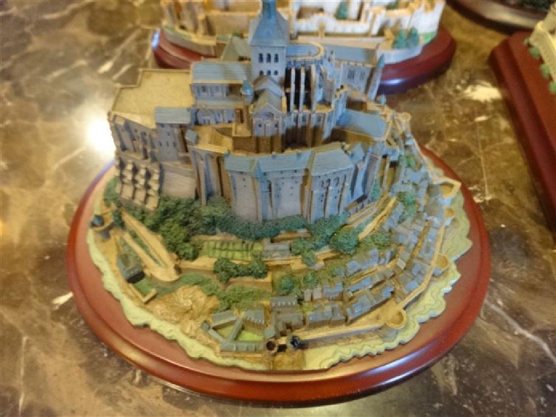 6 PC LENOX GREAT CASTLES OF THE WORLD SCULPTURES, - 3