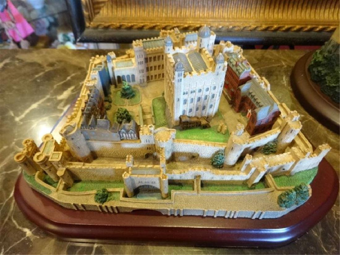 6 PC LENOX GREAT CASTLES OF THE WORLD SCULPTURES, - 4