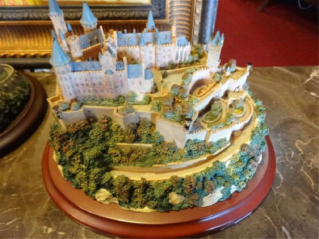 6 PC LENOX GREAT CASTLES OF THE WORLD SCULPTURES, - 6