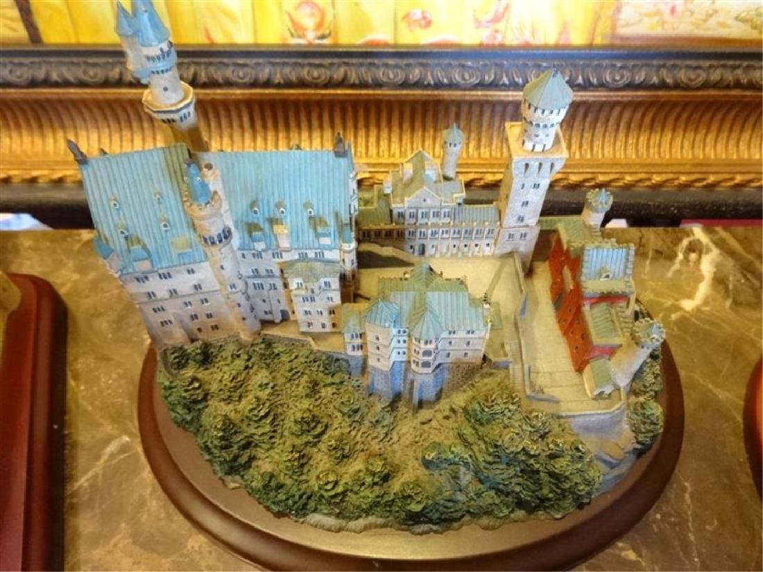 6 PC LENOX GREAT CASTLES OF THE WORLD SCULPTURES, - 7