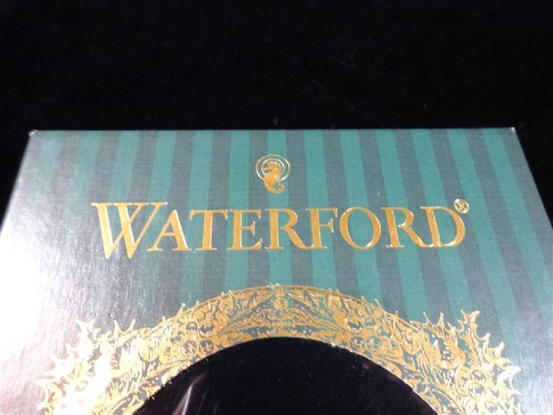 WATERFORD GLASS CHRISTMAS TREE ORNAMENT, IN ORIGINAL - 4
