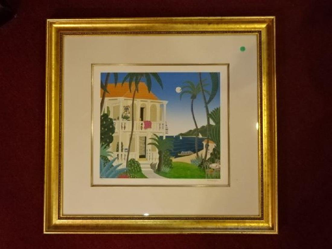 THOMAS MCKNIGHT SIGNED SERIGRAPH, LIMITED EDITION,