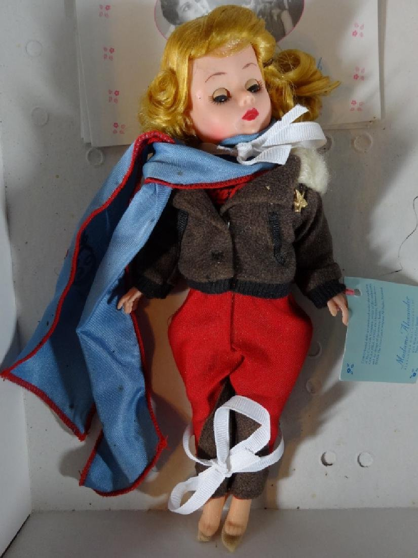 MADAME ALEXANDER COCA COLA AVIATION DOLL WITH PLANE, IN