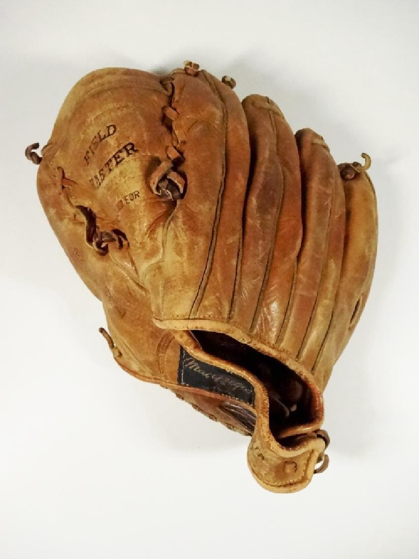VINTAGE MACGREGOR BASEBALL GLOVE, FIELD MASTER, HARRY