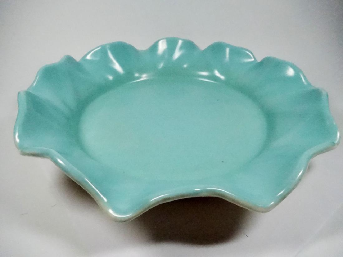VINTAGE METLOX POPPYTRAIL CHINA BOWL, BLUE & WHITE,