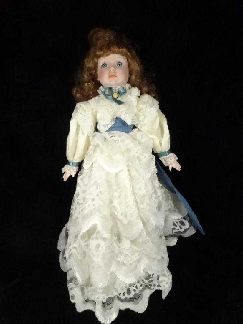 dynasty doll collection bisque doll approx 19