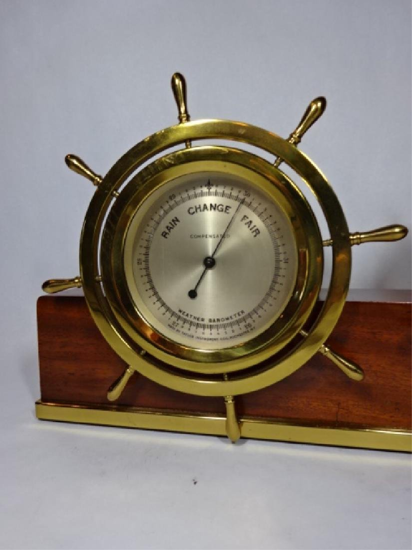 1950's NAUTICAL MOTIF SETH THOMAS CLOCK WITH TAYLOR - 2