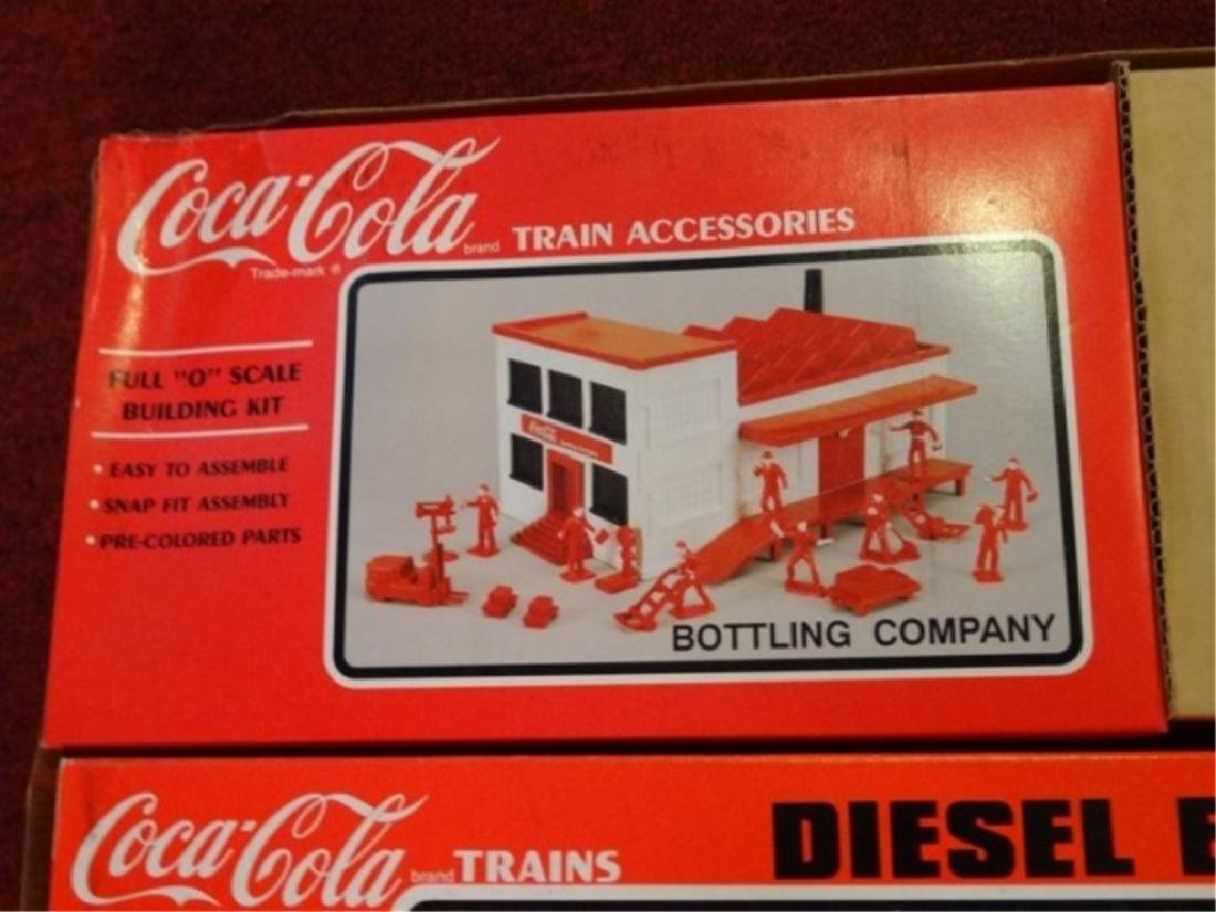 K-LINE COCA COLA TTAX TRACTOR TRAIN SET, MP-15 ENGINE, - 10