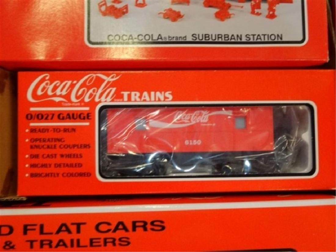 K-LINE COCA COLA TTAX TRACTOR TRAIN SET, MP-15 ENGINE, - 3