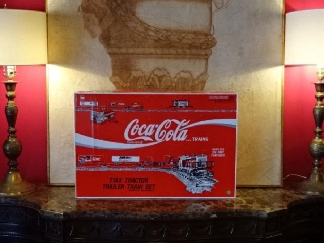 K-LINE COCA COLA TTAX TRACTOR TRAIN SET, MP-15 ENGINE, - 6