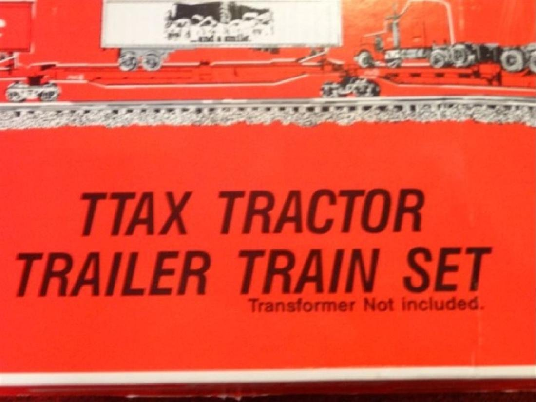 K-LINE COCA COLA TTAX TRACTOR TRAIN SET, MP-15 ENGINE, - 7
