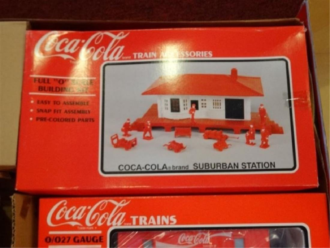 K-LINE COCA COLA TTAX TRACTOR TRAIN SET, MP-15 ENGINE, - 9